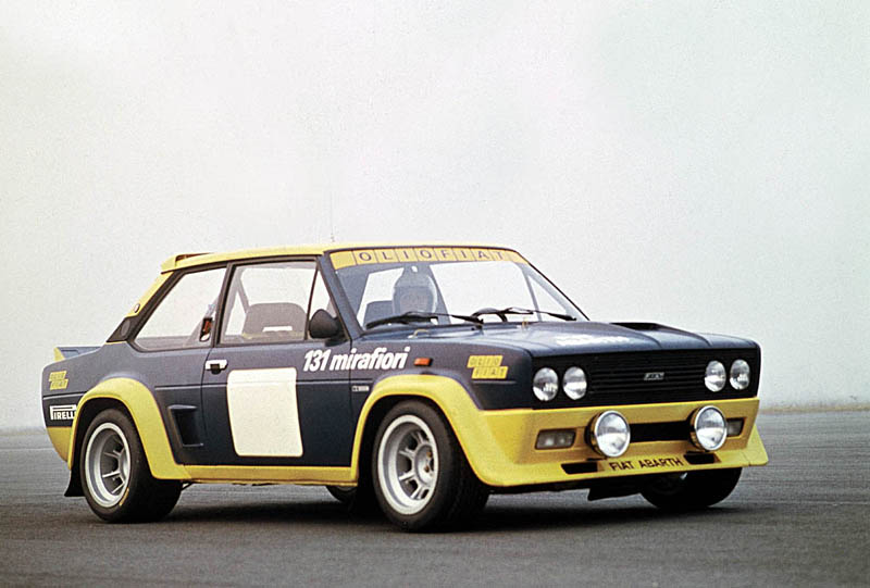 Historic Rally Amp Classic Race Cars Fiat 131 Abarth