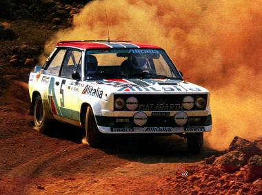 Walter Rohrl on the 79 Accropolis Rally