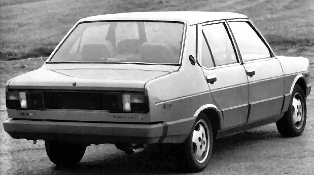 The 131 2000 Supermirafiori Volumetrico Abarth - Picture Courtesy of Fiat Archive Turin